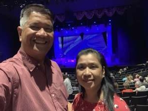 Fredito attended Engelbert Humperdinck on Oct 23rd 2019 via VetTix
