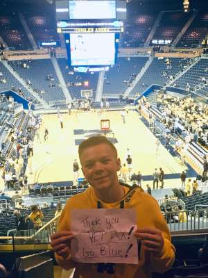 Clarence attended University of Michigan Wolverines vs. Appalachian State - NCAA Basketball on Nov 5th 2019 via VetTix