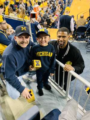 Tyler attended University of Michigan Wolverines vs. Appalachian State - NCAA Basketball on Nov 5th 2019 via VetTix