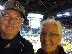 Joseph attended University of Michigan Wolverines vs. Appalachian State - NCAA Basketball on Nov 5th 2019 via VetTix