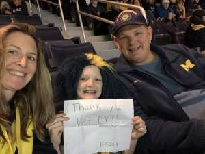 Chad attended University of Michigan Wolverines vs. Appalachian State - NCAA Basketball on Nov 5th 2019 via VetTix