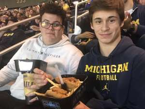 Chris attended University of Michigan Wolverines vs. Appalachian State - NCAA Basketball on Nov 5th 2019 via VetTix