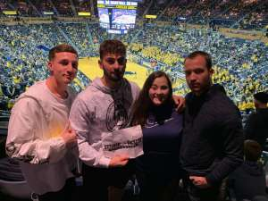 john attended University of Michigan Wolverines vs. Appalachian State - NCAA Basketball on Nov 5th 2019 via VetTix