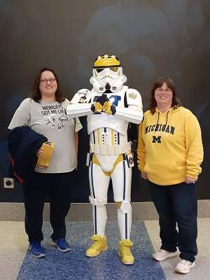 Thomas attended University of Michigan Wolverines vs. Appalachian State - NCAA Basketball on Nov 5th 2019 via VetTix