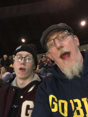 clinton attended University of Michigan Wolverines vs. Appalachian State - NCAA Basketball on Nov 5th 2019 via VetTix