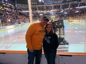 Joshua attended Nashville Predators vs. Anaheim Ducks - NHL on Oct 22nd 2019 via VetTix