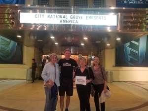 Richard attended America - 50th Anniversary Tour on Oct 25th 2019 via VetTix