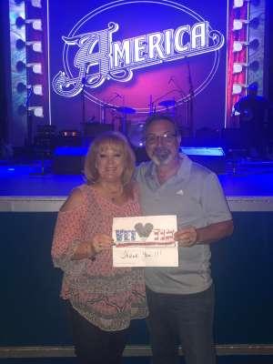 MICHAEL attended America - 50th Anniversary Tour on Oct 25th 2019 via VetTix