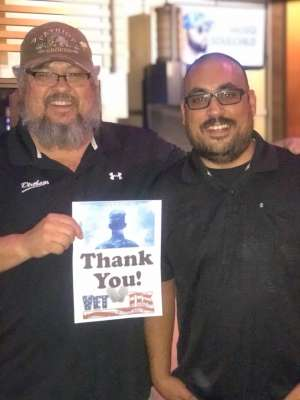 Nick attended America - 50th Anniversary Tour on Oct 25th 2019 via VetTix
