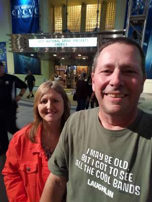 Dayn attended America - 50th Anniversary Tour on Oct 25th 2019 via VetTix