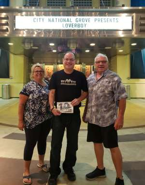 Norman attended Loverboy - Live in Concert on Oct 24th 2019 via VetTix