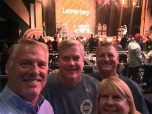 Brett attended Loverboy - Live in Concert on Oct 24th 2019 via VetTix