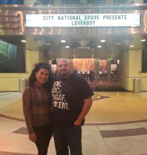 miguel attended Loverboy - Live in Concert on Oct 24th 2019 via VetTix
