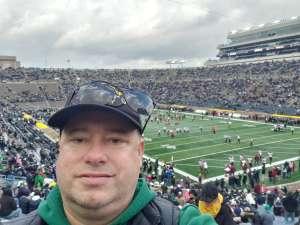 Gary attended Notre Dame Fighting Irish vs. Virginia Tech - NCAA Football on Nov 2nd 2019 via VetTix