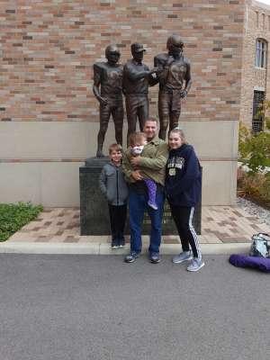 Michael attended Notre Dame Fighting Irish vs. Virginia Tech - NCAA Football on Nov 2nd 2019 via VetTix