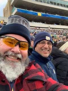 Joe attended Notre Dame Fighting Irish vs. Virginia Tech - NCAA Football on Nov 2nd 2019 via VetTix