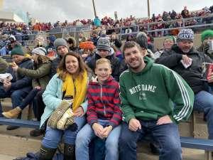 Greg attended Notre Dame Fighting Irish vs. Virginia Tech - NCAA Football on Nov 2nd 2019 via VetTix
