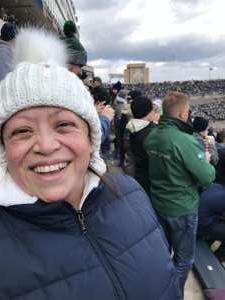 Adam attended Notre Dame Fighting Irish vs. Virginia Tech - NCAA Football on Nov 2nd 2019 via VetTix