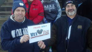 Click To Read More Feedback from University of Notre Dame Fighting Irish vs. Navy - NCAA Football