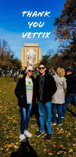 Max attended University of Notre Dame Fighting Irish vs. Navy - NCAA Football on Nov 16th 2019 via VetTix