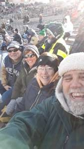 John attended University of Notre Dame Fighting Irish vs. Navy - NCAA Football on Nov 16th 2019 via VetTix