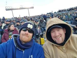 Ryan attended University of Notre Dame Fighting Irish vs. Navy - NCAA Football on Nov 16th 2019 via VetTix