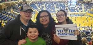 Click To Read More Feedback from Navy Midshipmen vs. Army West Point - NCAA Basketball