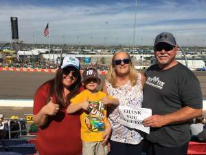 Click To Read More Feedback from Bluegreen Vacations 500 NASCAR Semi-final Race