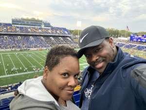 Jamaal attended Navy Midshipmen vs. Tulane - NCAA Football on Oct 26th 2019 via VetTix