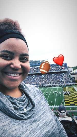 Tiajay attended Navy Midshipmen vs. Tulane - NCAA Football on Oct 26th 2019 via VetTix