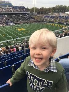 Robert attended Navy Midshipmen vs. Tulane - NCAA Football on Oct 26th 2019 via VetTix