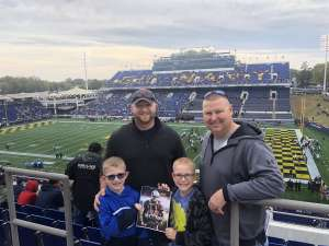 Renee attended Navy Midshipmen vs. Tulane - NCAA Football on Oct 26th 2019 via VetTix