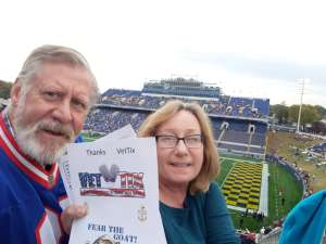 Douglas attended Navy Midshipmen vs. Tulane - NCAA Football on Oct 26th 2019 via VetTix