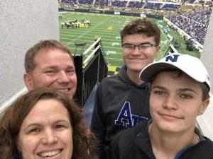 Joe attended Navy Midshipmen vs. Tulane - NCAA Football on Oct 26th 2019 via VetTix