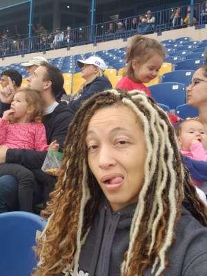 Erica attended Navy Midshipmen vs. Tulane - NCAA Football on Oct 26th 2019 via VetTix