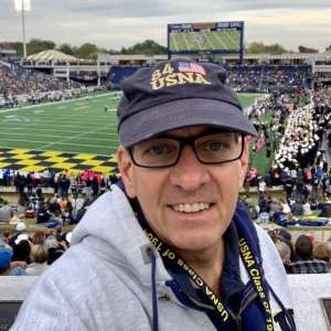 Jerry attended Navy Midshipmen vs. Tulane - NCAA Football on Oct 26th 2019 via VetTix