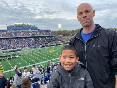Allen attended Navy Midshipmen vs. Tulane - NCAA Football on Oct 26th 2019 via VetTix