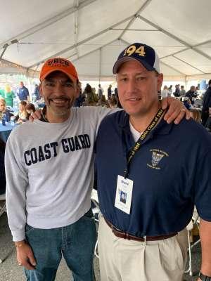 Sharif attended Navy Midshipmen vs. Tulane - NCAA Football on Oct 26th 2019 via VetTix