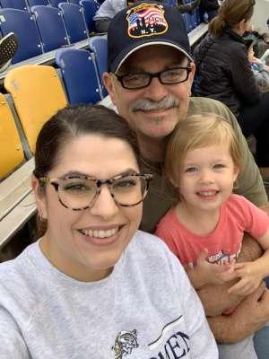 Dennis attended Navy Midshipmen vs. Tulane - NCAA Football on Oct 26th 2019 via VetTix