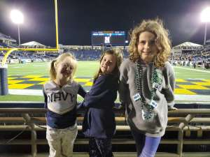 William attended Navy Midshipmen vs. Tulane - NCAA Football on Oct 26th 2019 via VetTix