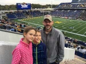 Phil attended Navy Midshipmen vs. Tulane - NCAA Football on Oct 26th 2019 via VetTix