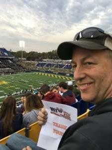 Troy attended Navy Midshipmen vs. Tulane - NCAA Football on Oct 26th 2019 via VetTix