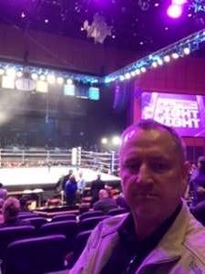 david attended Premiere Boxing Champions: Castano vs. Omotoso - Boxing on Nov 2nd 2019 via VetTix