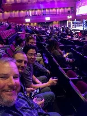 Chris attended Premiere Boxing Champions: Castano vs. Omotoso - Boxing on Nov 2nd 2019 via VetTix