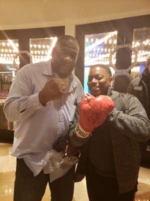 Corey attended Premiere Boxing Champions: Castano vs. Omotoso - Boxing on Nov 2nd 2019 via VetTix