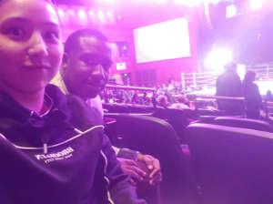 Thomas attended Premiere Boxing Champions: Castano vs. Omotoso - Boxing on Nov 2nd 2019 via VetTix