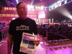 Michael attended Premiere Boxing Champions: Castano vs. Omotoso - Boxing on Nov 2nd 2019 via VetTix