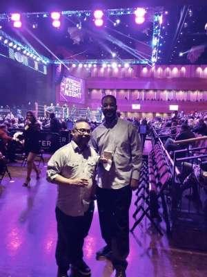 Katrina attended Premiere Boxing Champions: Castano vs. Omotoso - Boxing on Nov 2nd 2019 via VetTix