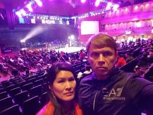 Yuriy attended Premiere Boxing Champions: Castano vs. Omotoso - Boxing on Nov 2nd 2019 via VetTix