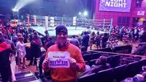 Anthony attended Premiere Boxing Champions: Castano vs. Omotoso - Boxing on Nov 2nd 2019 via VetTix